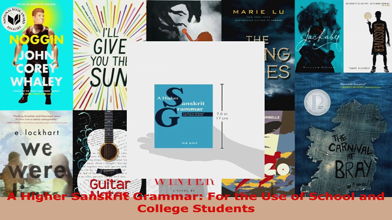 Download  A Higher Sanskrit Grammar For the Use of School and College Students PDF Free