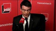 """Manuel Valls : """"Moi aussi j'ai envie de dire que je suis fier d'être Français"""""""