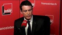 """Manuel Valls sur Claude Bartolone : """"Je ne commenterai pas"""""""