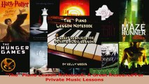 Read  The Piano Lesson Notebook A Great Resource For Private Music Lessons PDF Online