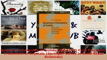 PDF Download  Quantum Chemistry of Solids The LCAO First Principles Treatment of Crystals Springer Read Online