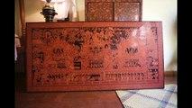Burmese lacquerware production at Bagan House Lacquerware - New Bagan, Myanmar