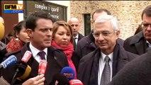 """Valls: Bartolone est """"au-dessus de la mêlée"""""""