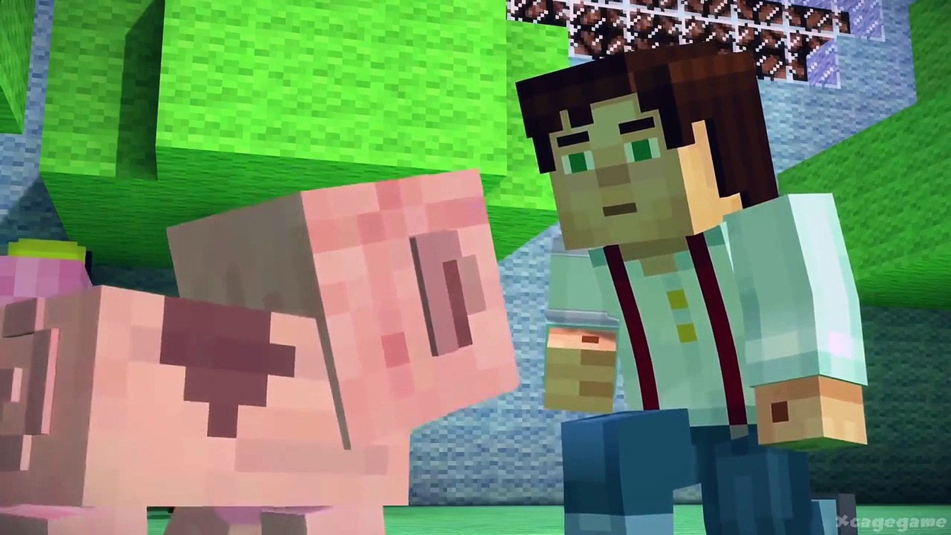 Minecraft Story Mode Full Episode 3 Gameplay Walkthrough Hd