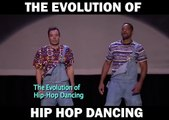 THE EVOLUTION OF HIP HOP DANCE ft Will Smith and Jimmy Fallon - Copie