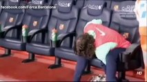 Carles Puyol Barcelona coach from the bench _ 14_12_13