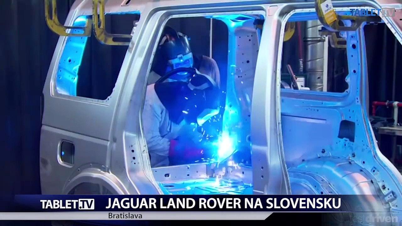 Vláda SR podpísala investičnú zmluvu s automobilkou Jaguar Land Rover
