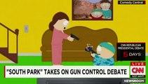 Quand les Américains évoquent le contrôle des armes avec humour