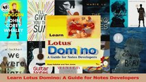 Read  Learn Lotus Domino A Guide for Notes Developers Ebook Free