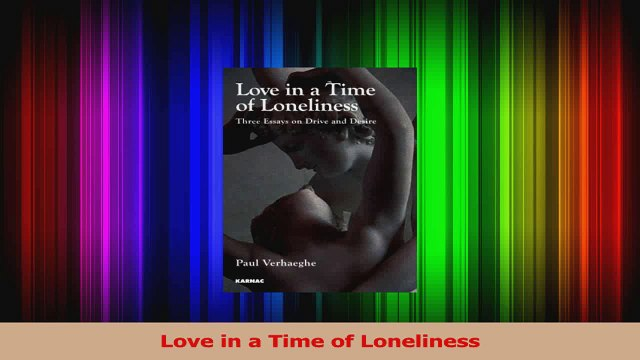 Love in a Time of Loneliness PDF