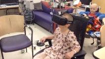 Des enfants malades retrouvent le sourire grâce à un casque de réalité virtuelle - La Semaine Geek