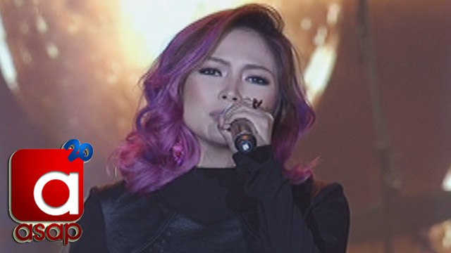 """ASAP: Yeng Constantino sings """"I Knew You Were Trouble"""" on ASAP"""