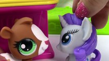 MLP Fashems Shopkins My Little Pony GROCERY STORE Twilight Pinkie Pie Fluttershy Rarity T