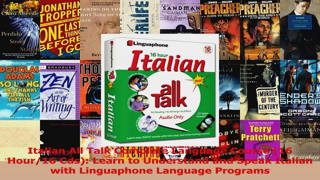 Read  Italian All Talk Complete Language Course 16 Hour16 Cds Learn to Understand and Speak Ebook Free