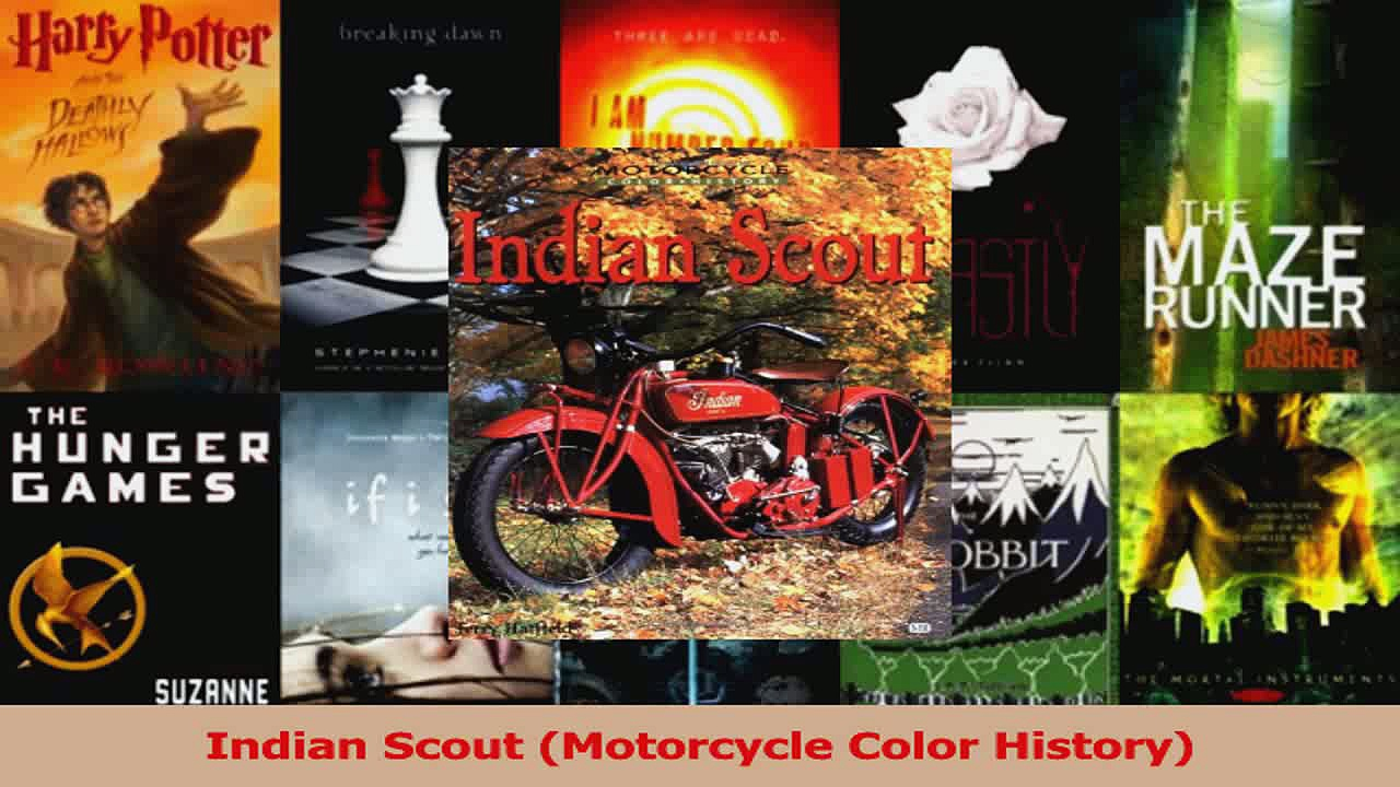 Download  Indian Scout Motorcycle Color History Ebook Free