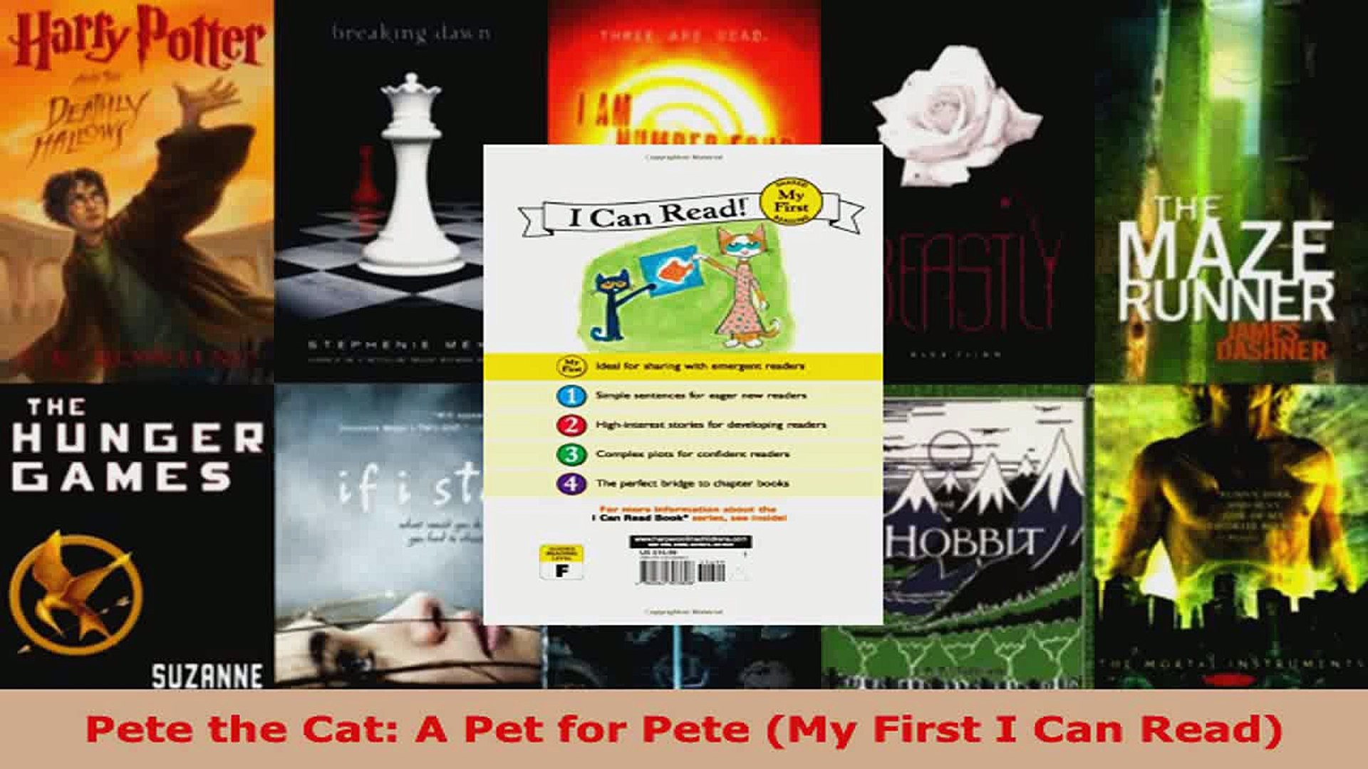Read  Pete the Cat A Pet for Pete My First I Can Read Ebook Free