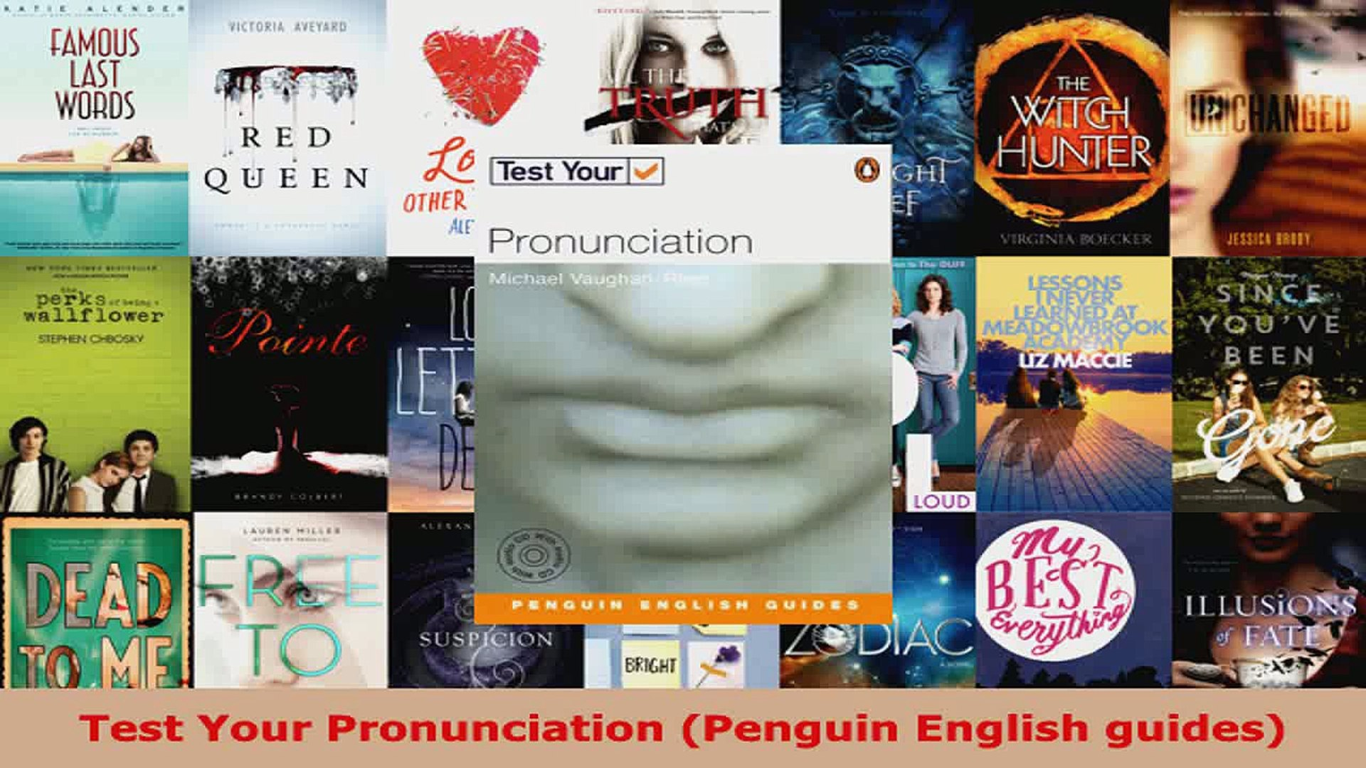 Download Test Your Pronunciation Penguin English guides EBooks Online
