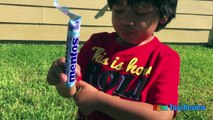 DIET COKE AND MENTOS EXPERIMENT CHALLENGE Easy science experiment for kids Toys Cars Ryan