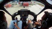 Helicopter Lift to a Hover & Hover Taxi Enstrom F 28 F