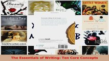 Read  The Essentials of Writing Ten Core Concepts EBooks Online