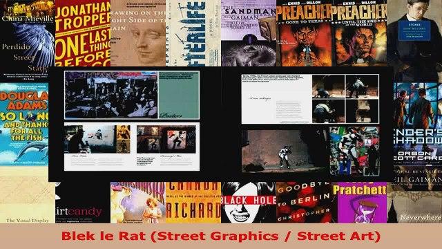 Download  Blek le Rat Street Graphics  Street Art PDF Online