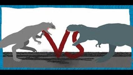 Pivot Battle Arena: Vastatosaurus Rex VS Indominus Rex