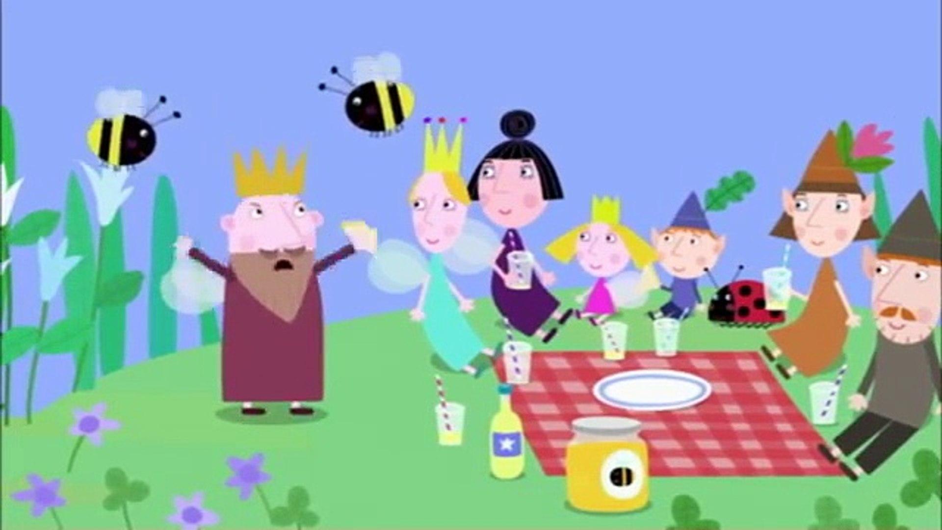 Le Petit Royaume De Ben Et Holly Le Pique Nique Nickelodeon Junior Dailymotion Video