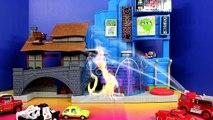 Disney Pixar Cars Sheriff Car McQueen Mater Save Francesco Bernoulli Lemons Fire Rescue Sq