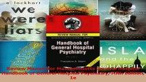 Review Manual for Massachusetts General Hospital Handbook of General Hospital Psychiatry Read Online