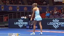 Maria Sharapova vs Ana Ivanovic tennis highlights IPTL 2015