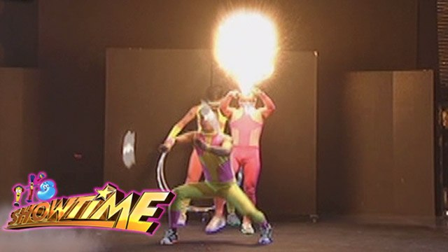 It's Showtime Todo BiGay: Fiery hot performance of Alab Poi Dancers