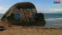 Erdeven: Plage naturiste rongée par les vagues - ETEL Bretagne Télé