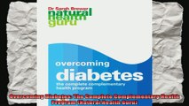 Overcoming Diabetes The Complete Complementary Health Program Natural Health Guru