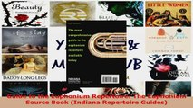 Read  Guide to the Euphonium Repertoire The Euphonium Source Book Indiana Repertoire Guides EBooks Online