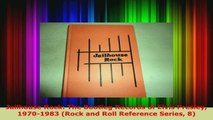 Read  Jailhouse Rock The Bootleg Records of Elvis Presley 19701983 Rock and Roll Reference EBooks Online