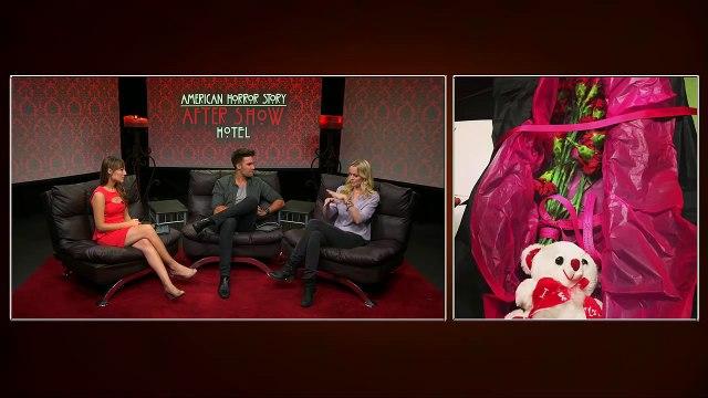 Helena Mattsson on American Horror Story: Hotel After Show Season 5 Episode 7 Flicker