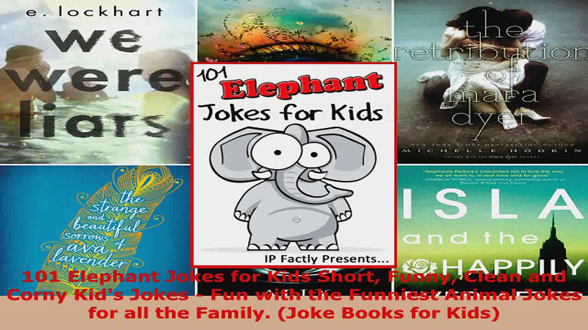 Read  101 Elephant Jokes for Kids Short Funny Clean and Corny Kids Jokes  Fun with the PDF Online
