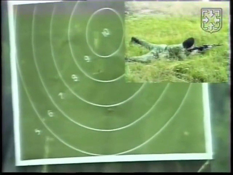 Стрельба из боевого оружия УКС №11 из АК и СВД.