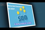 I will add 500 fans to your Facebook Fan Page