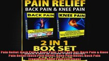 Pain Relief Back Pain  Knee Pain 2 in 1 Box Set Back Pain  Knee Pain Relief Back