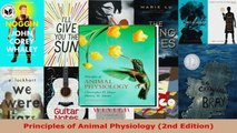 Read  Principles of Animal Physiology 2nd Edition Ebook Free