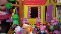 George Pig Peppa Pig Tree Fort Playset Peppa Pig Daddy Pig Mummy Pig George Pig Candy Cat