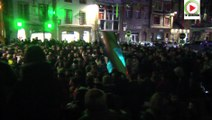 Mobilisation étudiants journalistes IUT Lannion attentat Charlie Hebdo - Paris Bretagne Télé