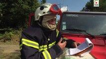 #Morbihan Feu de Foret le Drone aide les Sapeurs-Pompiers - Paris Bretagne Télé