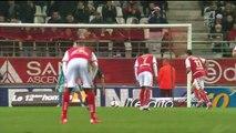 1-1 Diego Rigonato Rodrigues Penalty Goal France  Ligue 1 - 12.12.2015, Stade Reims 1-1 OGC Nice
