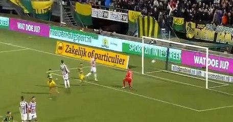 Гол Кевин Янсен · Ден Хааг (Гаага) - Виллем II (Тилбург) - 1:0