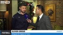 Exclu RMC Sport - Olivier Giroud réagit au tirage au sort de l'Euro 2016