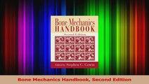 PDF Download  Bone Mechanics Handbook Second Edition Download Full Ebook