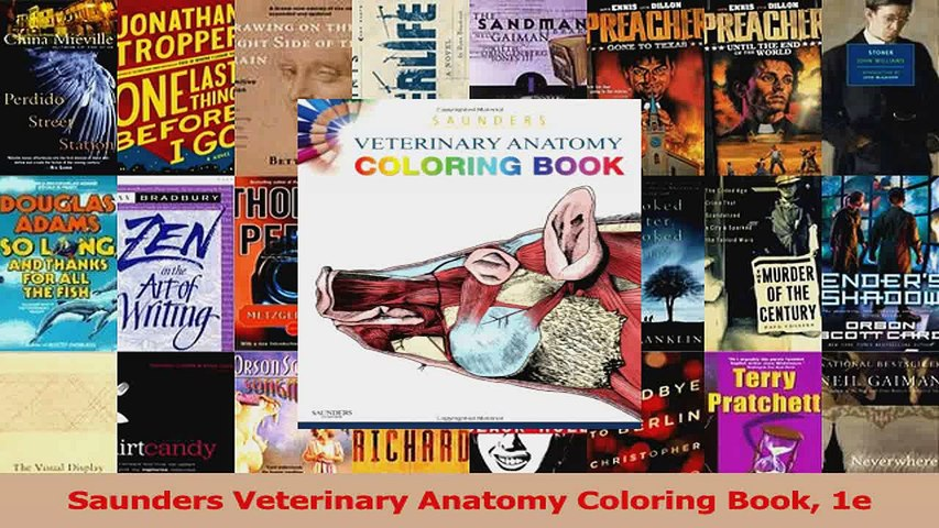 Saunders Veterinary Anatomy Coloring Book 1e Download - Video Dailymotion