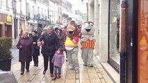 Parade et spectacle de Noël ont ravi les enfants